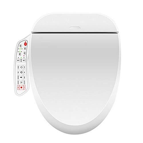 YLEI Toilettensitz, Dusch WC mit Düse, Elektrischer Smart Bidet Toilettensitz, Absenkautomatik, Warme Lufttrocknung, Leicht zu reinigen,Small Short Style
