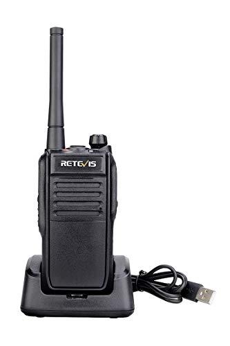 Retevis RT78 Walkie Talkie Multi-Red Co municación Global APRS IP67 Walkie-Talkie Impermeable Alta Potencia 5200mAh Batería Radio FM Bluetooth Aplicación Móvil Edición(Negro)