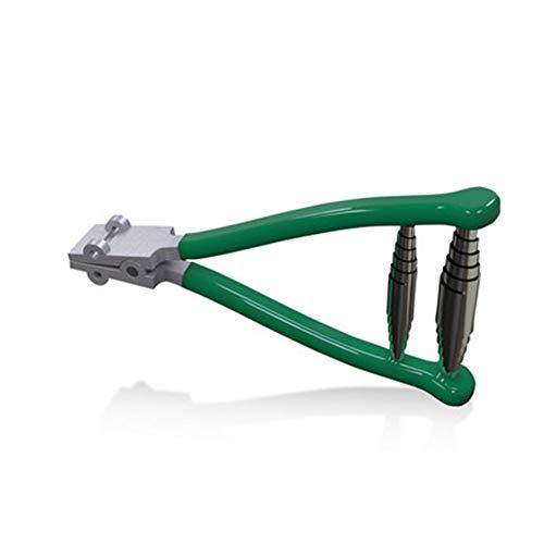 Herramienta portátil de abrazadera de encordado de arranque de acero inoxidable - 2 muelles desmontables, alicate de máquina de encordado de cabeza ancha - para herramientas raqueta tenis y bádminton