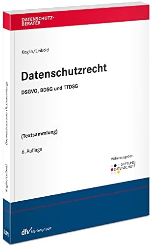 Datenschutzrecht: DSGVO BDSG TTDSG (Textsammlung) (Datenschutzberater)