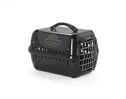 MODERNA Luxurious Pet Voyager Panier pour Chat 49,4 x 32,2 x 30,4 cm