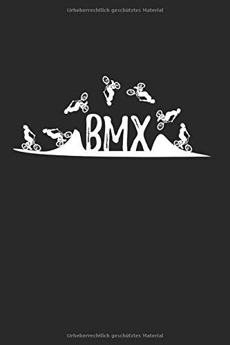 BMX: 6x9 Zoll Notizbuch – kariert