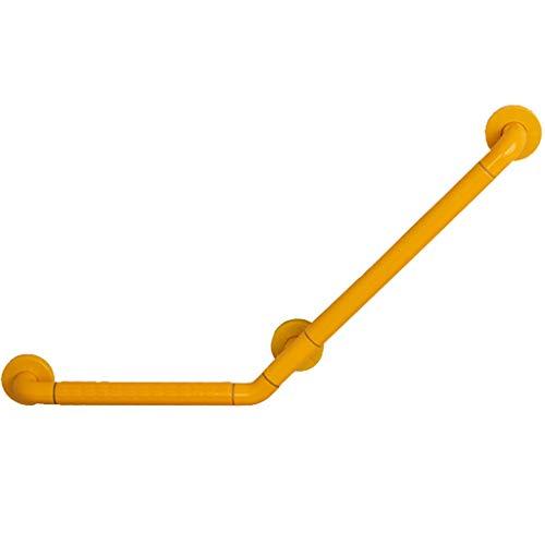 Baño Manija de la Ducha Asa de Seguridad Barras de Seguridad para baños para Personas Mayores,Asas Antideslizantes para escaleras domésticas,Puede soportar 250 kg (Color : Yellow, Size : 50 * 70cm)