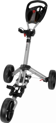 Fast Fold Trike3Wheel Silber Golftrolley