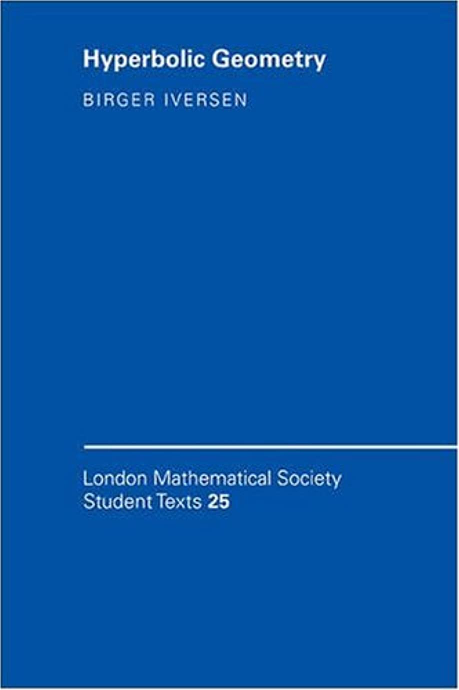人物パシフィックスーツケースHyperbolic Geometry (London Mathematical Society Student Texts)