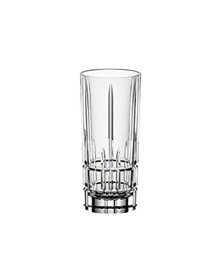 Spiegelau & Nachtmann, 4-teiliges Schnapsgläser-Set, Stamper/Shotglas, Kristallglas, 55 ml, Peferct Serve, 4500170