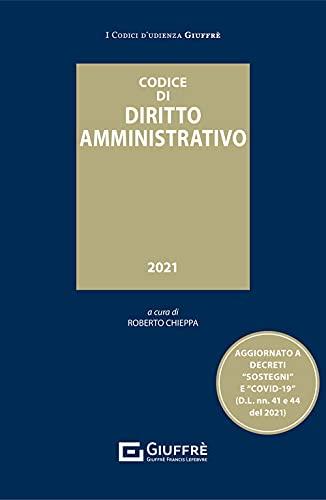 Codice di diritto amministrativo udienza 2021