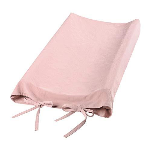 SALUTUYA 100% algodón, Funda para Cambiador de bebé, para Cambiar pañales Funda para Cambiador para bebé(Old Meat Meal)