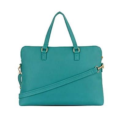 Baggit Autumn-Winter 2020 Faux Leather Women's Satchel Handbag (Green) (Many)