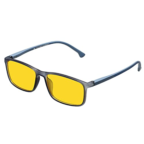VAST Day And Night Vision Driving Glasses | Blue Ray Blocking And Gaming Glasses For Men Boys Sunglasses 7725 Grey