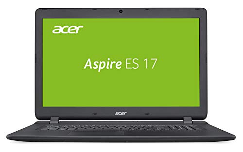 Acer Aspire ES 17 (ES1-732-P9EX) 43,9 cm (17,3 Zoll HD+) Multimedia Laptop (Intel Pentium N4200, 8 GB RAM, 256 GB SSD, Intel HD, Win 10 Home) schwarz