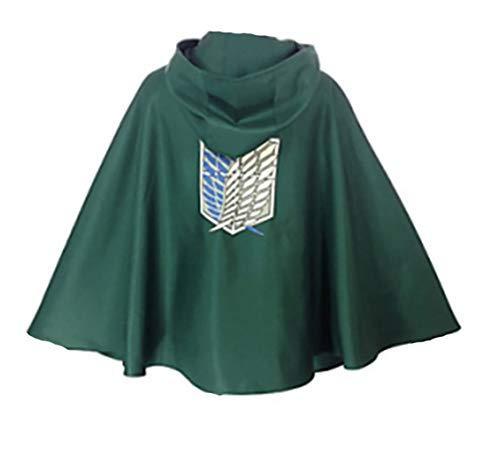 わかえ Shingeki No Kyojin cosplay hoodie costume coat and blanket