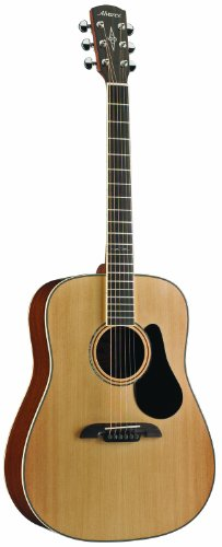Alvarez Artist Series AD60 Dreadnought Guitar, Natural/Gloss Finish