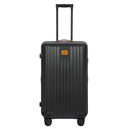 Bric's USA Luggage Model: CAPRI |Size: 28' Trunk Trolley | Color: MATTE BLACK