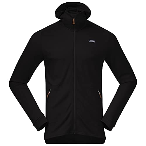 Bergans Tuva Light Wool Hood Jacket Men Größe L Black