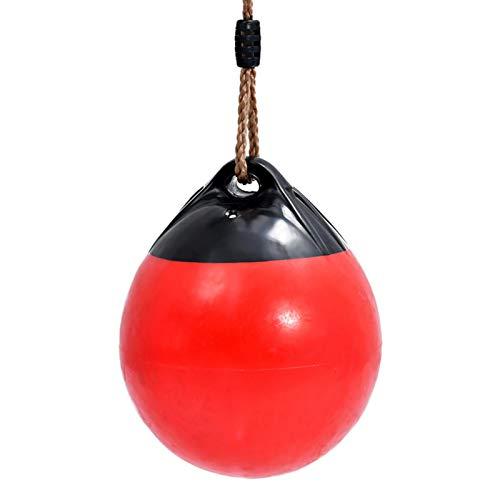 Bulary - Asiento balancín para niños de Alto Rendimiento, Columpio de balón con Cuerda Colgante, Columpio Hinchable para árbol y Espacio de Juego Exterior