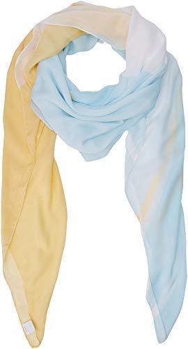 BOSS Damen Nasun Schal, Gelb (Light/Pastel Yellow 743), One Size (Herstellergröße: STCK)