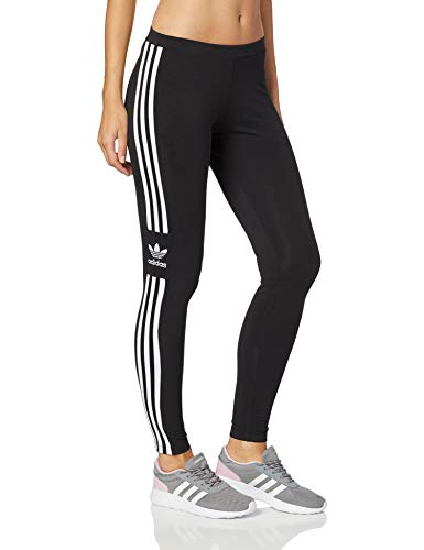 adidas Damen Trefoil Tights , Schwarz (black) , 36