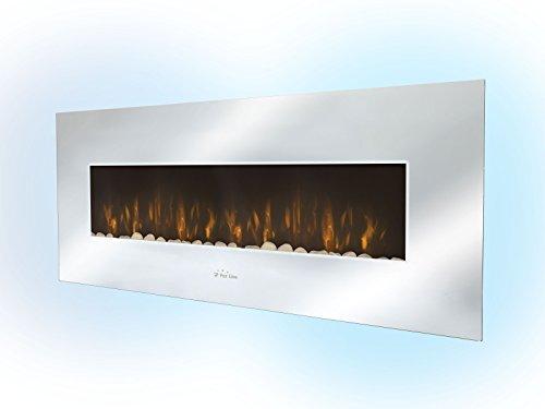 PURLINE CHE-510 Chimenea Eléctrica Panorámica con luz LED ambiental