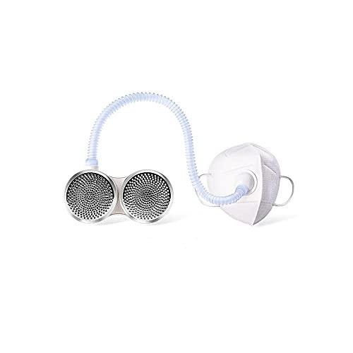 FitAir Wearable Personal Air Purifier -True Medical Grade HEPA Filter- Portable- Lightweight