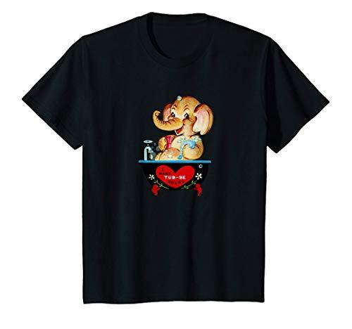 Niños quiero que la bañera sea tuya Vintage Camiseta