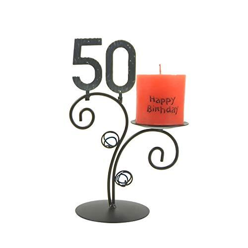 SünGross Leuchter Happy Birthday (50. Geburtstag)
