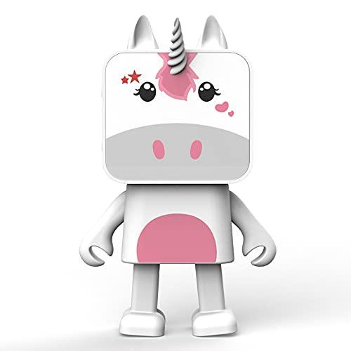 MOB – MOBILITY ON BOARD - Enceinte Bluetooth Dancing Animals Licorne - Enceinte Dansante Puissance 3W - Connexion sans Fil - Kit Mains Libres