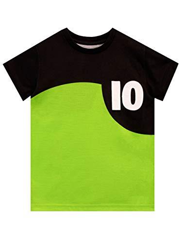 Ben 10 Boys' T-Shirt Green Size 6