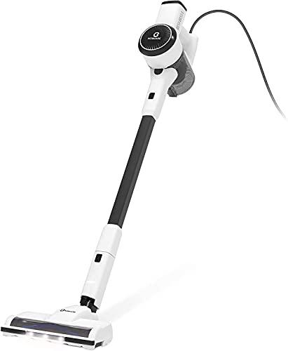 掃除機 コード式 サイクロン 掃除機 強吸引力 18kpa 自立スタンド 静音 180°回転 LEDライト付き 掃除機 サイクロン式 5m PSE認証済 S182 NEQUARE