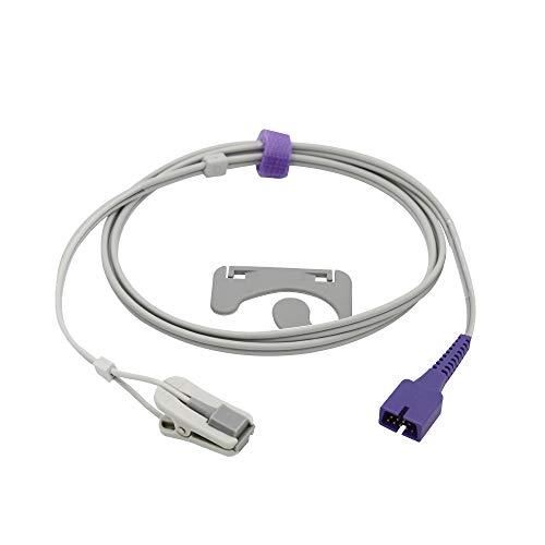Spo2-Sensoranschluss für erwachsene Ohren 3.2 Pins mit 9 Pins Kompatibel mit Nellcor FDA / CE-Zulassung
