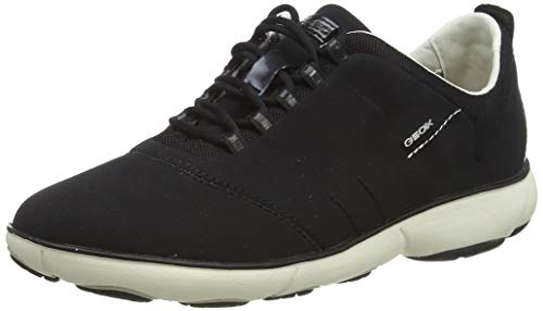 Geox Damen D Nebula a Sneakers, Schwarz (BLACKC9999), 40 EU