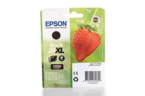 Epson Epson Expression Home XP-445 (29XL/C13T29914010) Cartouche d'encre noire 470 pages 11,3 ml