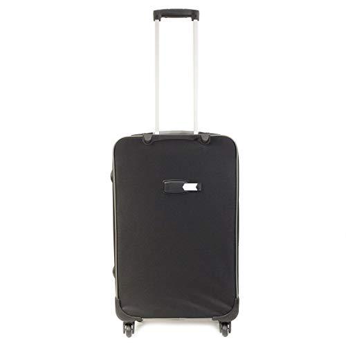 Set Economique de 3 Grandes valises Noires Multipoches Gros Volume - 4 Roues- Tailles 60/68/78 cm