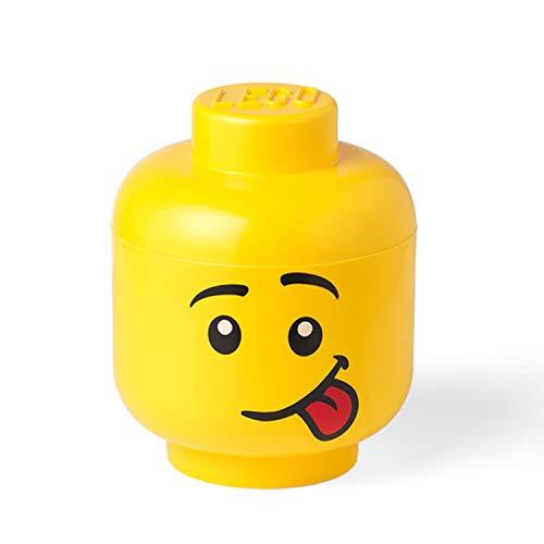 LEGO 40321726 Tête de rangement Grand Silly, Jaune