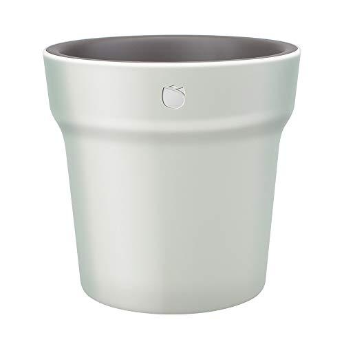 Vaso di Fiori Intelligente, HHCC Flora Smart Tester da Giardino Design Intelligente Misure in Tempo Reale per Umidità e Fertilizzante LED IPX6 Sensore di Vaso Impermeabile per Tester da Giardino