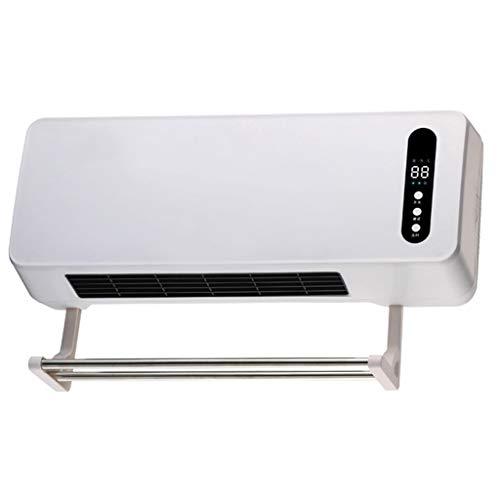 SJY A Parete Piccolo condizionatore d Aria Domestico riscaldatore Bagno Elettrico riscaldatore Impermeabile energia Risparmio energetico Riscaldamento Aria condizionata Ventilatore,White