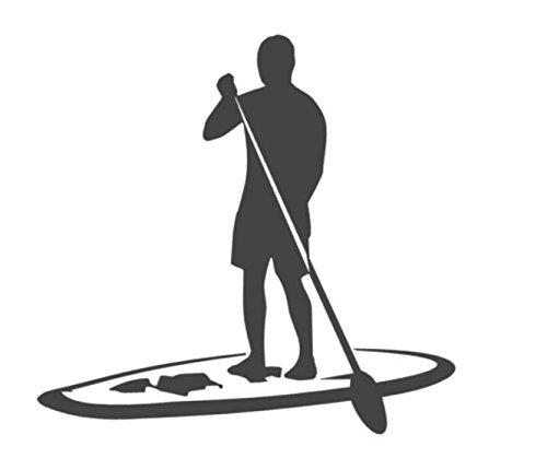 Générique Generic Autocollant pour Planche de Surf de 15 cm, 20 cm ou 50 cm (195/3) - 20cm - grün Glanz