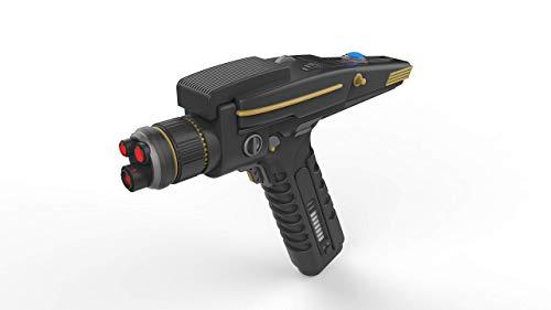 Discovery Phaser Terran Empire - Star Trek - Cosplay - 3D gedruckt mit beweglichen teilen und LEDs