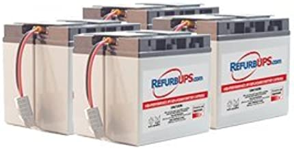 APC Smart-UPS 5000 RM (SUA5000RMT5U) Compatible Replacement Battery Kit with Harness