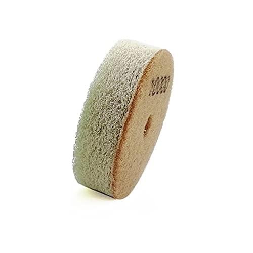 Almohadilla de pulido de diamante 3 unids/set 80mm esponja pulido de diamante almohadillas Dia 3 pulgadas de arena de disco para piedras más suaves de mármol de piedra arenisca de mármol Fuerte fuer