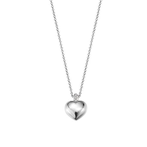 ESPRIT Damen Halskette 925 Sterling Silber Zirkonia Euphoria ELNL92723A420