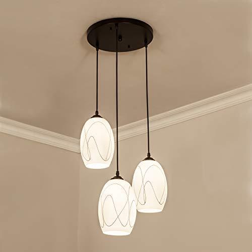 Plafondlamp Home Modern Light Eetkamer Minimalistisch ijzer smeedijzer Home Garden eetkamer aanstekers (grootte: Straight)