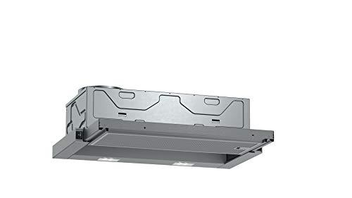 Neff D46BR22X1 - Campana extractora empotrable, N30, 60 cm, salida o recirculación, eficiencia energética B, color plateado