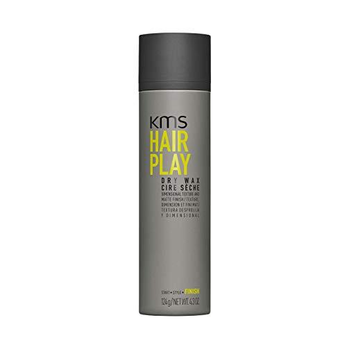 KMS Hairplay Dry Wax, 4.3 Oz