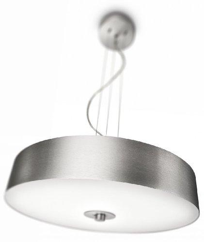 Preisvergleich Produktbild Philips myLiving Fair Energiespar- Pendelleuchte mit 55W,  inklusive Leuchtmittel,  1-flammig,  Aluminium,  403394816