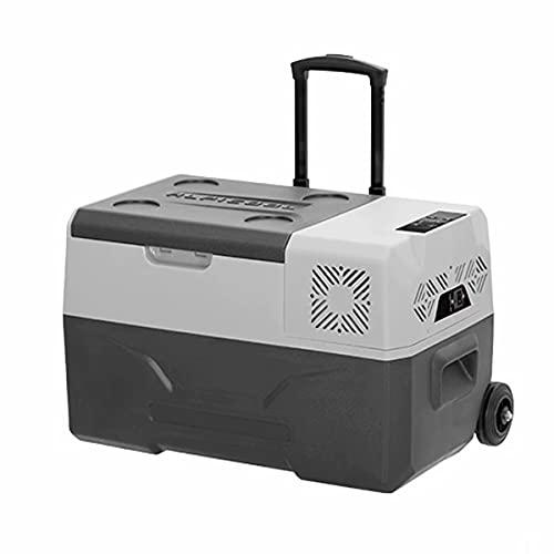 THMY 30L Refrigerador portátil para Coche congelador Combi Mini Auto Frigorífico 12V / 24V 220V Dual de Usar el compresor con el...