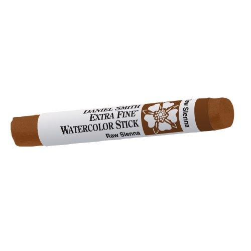 DANIEL SMITH Extra Fine Watercolor Paint, 12ml Stick, Raw Sienna, 284670024