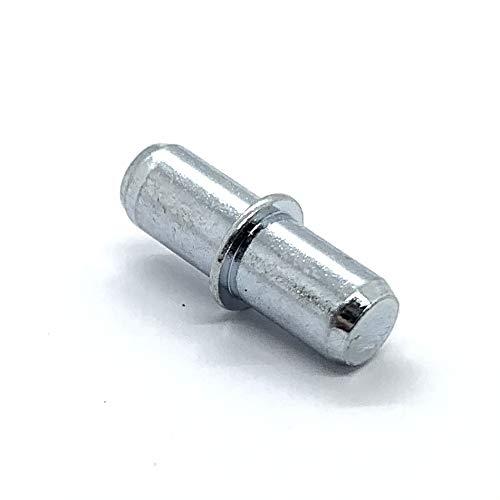 Bodenträger Ø5mm verzinkt Regal Stifte (40 Stück)