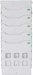 Classeurs Étude Durable Dossier Armoire de Rangement A4 Mur d'affichage Unité polypropylène Rangement Fichier Rack PP Maté...