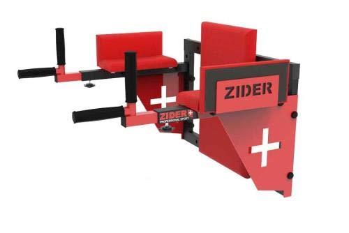 QLS Bauchtrainer Zider Dipstation Barren Stangen Fitness Wandmontage Dips Klimmzug Dipper